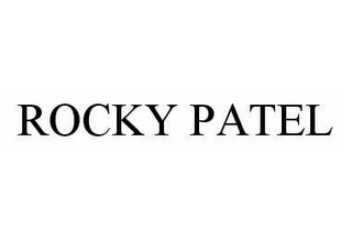 mark for ROCKY PATEL, trademark #78511462