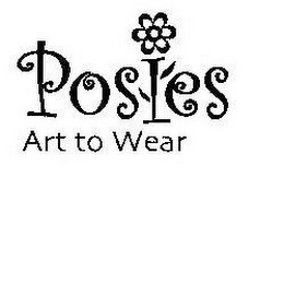 mark for POSIES ART TO WEAR, trademark #78511891