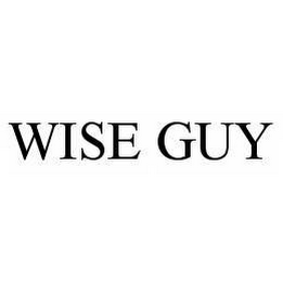 mark for WISE GUY, trademark #78512009