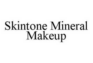 mark for SKINTONE MINERAL MAKEUP, trademark #78512283