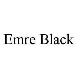 mark for EMRE BLACK, trademark #78512381