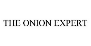 mark for THE ONION EXPERT, trademark #78512979