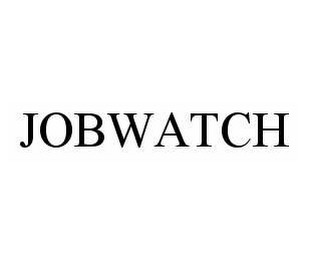 mark for JOBWATCH, trademark #78513280