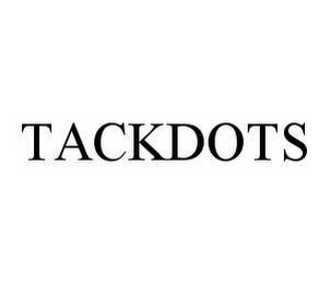 mark for TACKDOTS, trademark #78513717