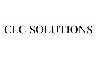 mark for CLC SOLUTIONS, trademark #78513994