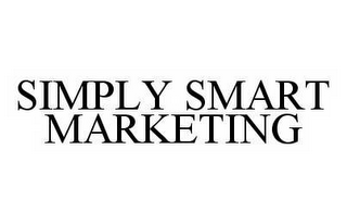mark for SIMPLY SMART MARKETING, trademark #78515389