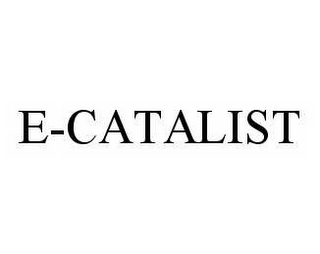mark for E-CATALIST, trademark #78515416