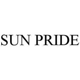 mark for SUN PRIDE, trademark #78515582