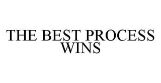 mark for THE BEST PROCESS WINS, trademark #78516973