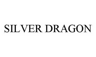 mark for SILVER DRAGON, trademark #78518196