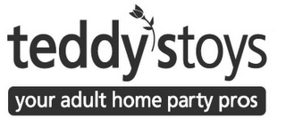mark for TEDDYSTOYS: YOUR ADULT HOME PARTY PROS, trademark #78518451