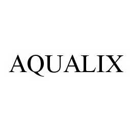 mark for AQUALIX, trademark #78520158