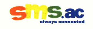 mark for SMS.AC ALWAYS CONNECTED, trademark #78520163