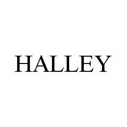 mark for HALLEY, trademark #78520481