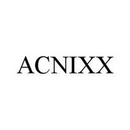 mark for ACNIXX, trademark #78521350