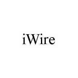 mark for IWIRE, trademark #78521687