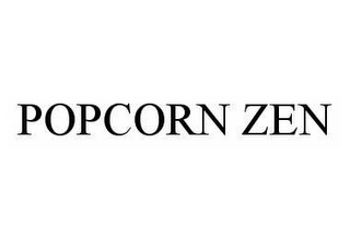 mark for POPCORN ZEN, trademark #78522977