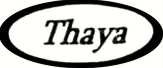 mark for THAYA, trademark #78523033