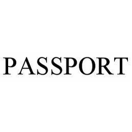 mark for PASSPORT, trademark #78524488