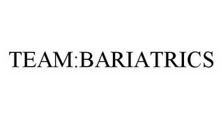 mark for TEAM:BARIATRICS, trademark #78524584