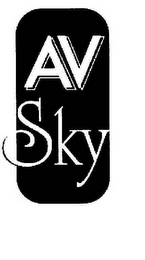 mark for AV SKY, trademark #78524755