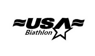mark for USA BIATHLON, trademark #78524925
