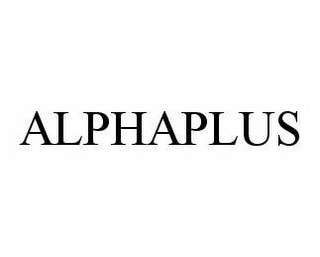 mark for ALPHAPLUS, trademark #78525610