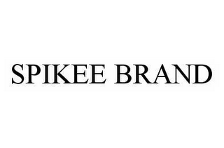 mark for SPIKEE BRAND, trademark #78525973