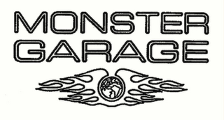 mark for MONSTER GARAGE, trademark #78526343