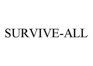 mark for SURVIVE-ALL, trademark #78526376