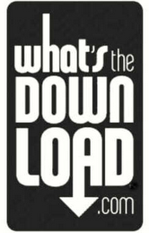 mark for WHAT'S THE DOWN LOAD.COM, trademark #78526679