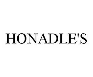 mark for HONADLE'S, trademark #78526810
