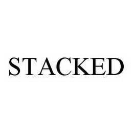 mark for STACKED, trademark #78526843