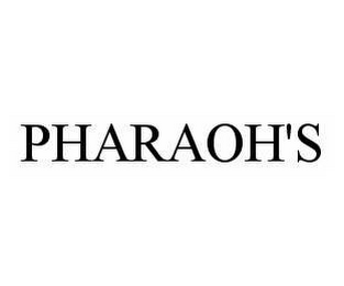 mark for PHARAOH'S, trademark #78526972