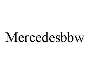 mark for MERCEDESBBW, trademark #78527542