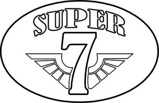 mark for SUPER 7, trademark #78527883