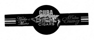 mark for CUBA CAIMAN CIGARS PEDRO ESTEVEZ HECHO A MANO, trademark #78528171