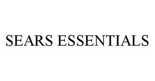 mark for SEARS ESSENTIALS, trademark #78530074