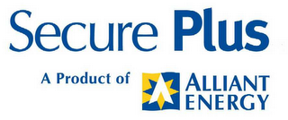 mark for SECURE PLUS A PRODUCT OF ALLIANT ENERGY A, trademark #78531279