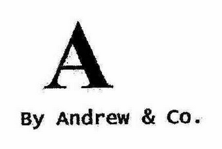 mark for A BY ANDREW & CO., trademark #78531722