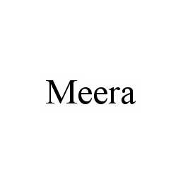 mark for MEERA, trademark #78531885