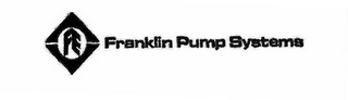 mark for FRANKLIN PUMP SYSTEMS, trademark #78531978