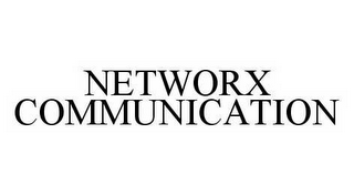 mark for NETWORX COMMUNICATION, trademark #78532199