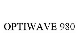 mark for OPTIWAVE 980, trademark #78533238