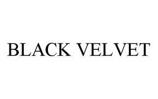 mark for BLACK VELVET, trademark #78533278