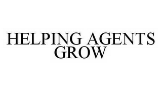 mark for HELPING AGENTS GROW, trademark #78533916