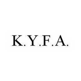 mark for K.Y.F.A., trademark #78534208
