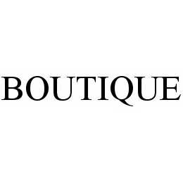 mark for BOUTIQUE, trademark #78534232