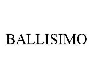 mark for BALLISIMO, trademark #78534290