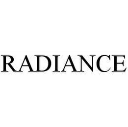 mark for RADIANCE, trademark #78534584
